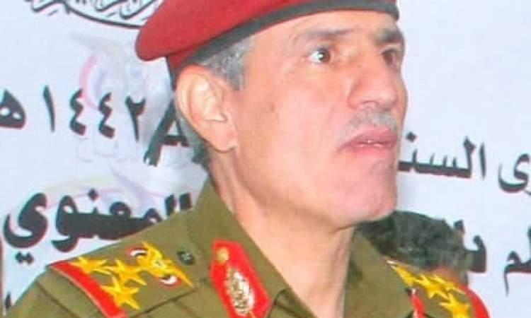 مستشار رئيس الأركان يزور المقاتلين في البيضاء